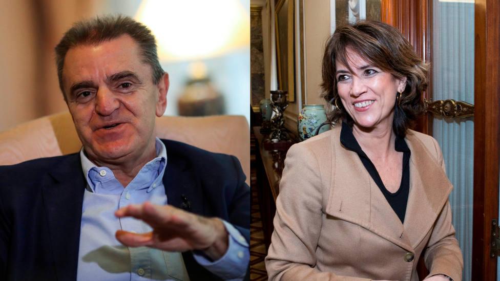 Las redes recuperan los momentos de euforia socialista de Dolores Delgado: ¡Gracias presidente Sánchez!
