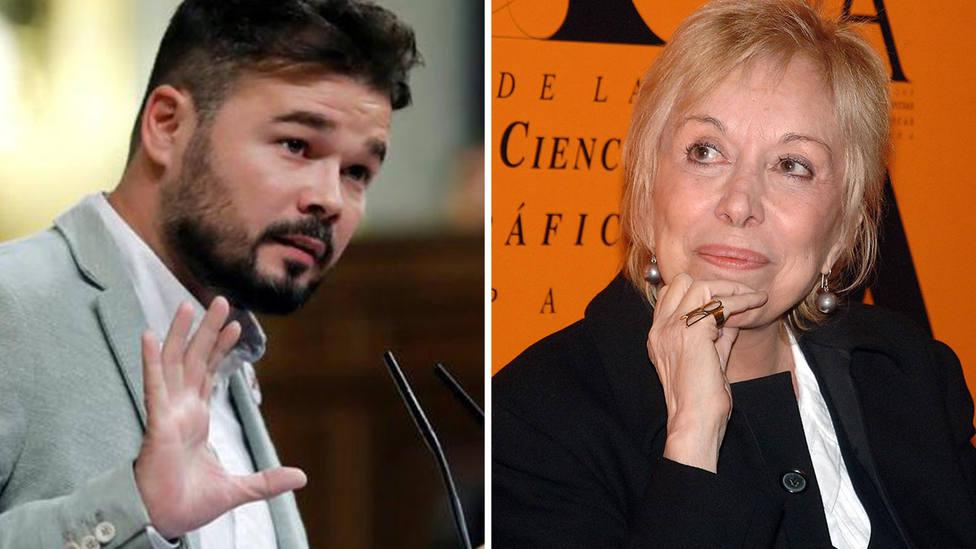 """Gabriel Rufián tras conocer la muerte de Rosa María Sardá: """"Me daba igual lo que pensara"""""""
