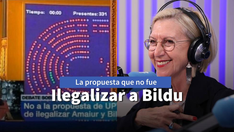 El día que Rosa Díez pudo haber evitado que hoy Bildu tenga 22 escaños en el País Vasco