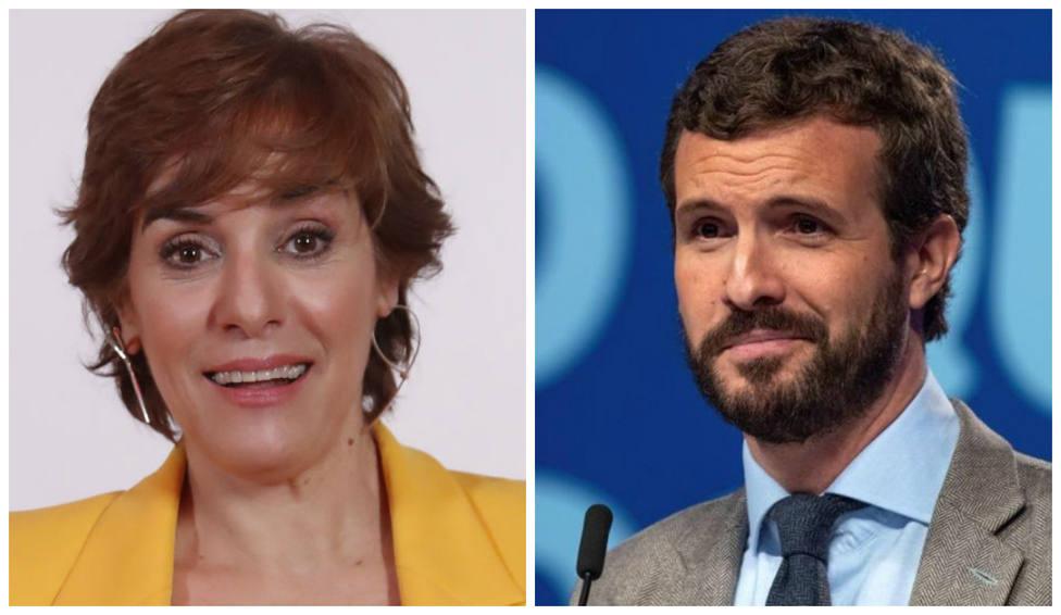 """El 'dardo' de Anabel Alonso a Casado tras los resultados de las elecciones vascas: """"Debe tenerla intacta"""