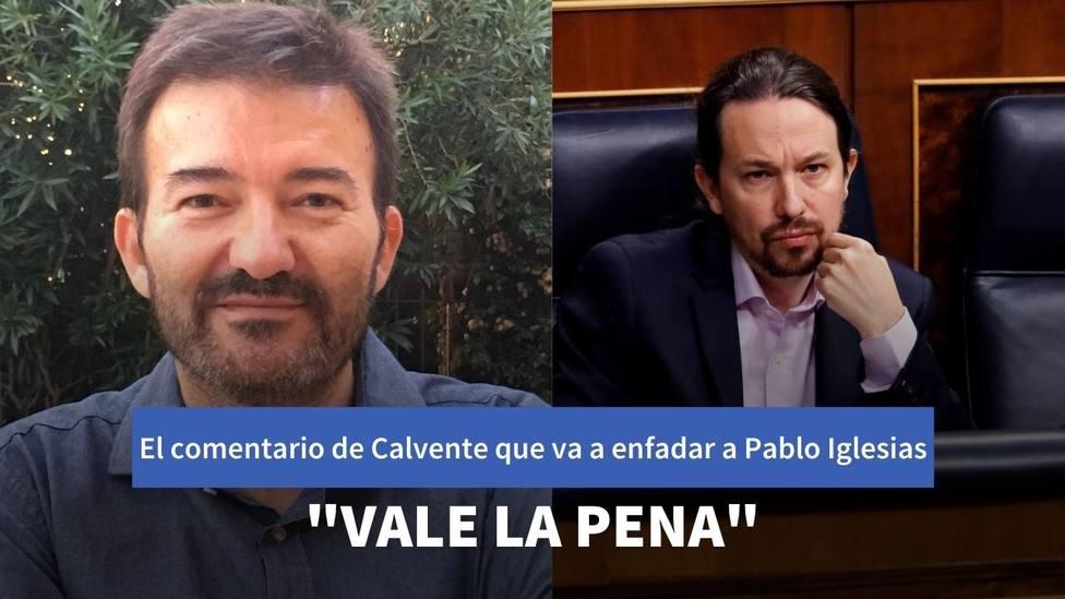 El comentario de José Manuel Calvente que no va a gustar a Pablo Iglesias