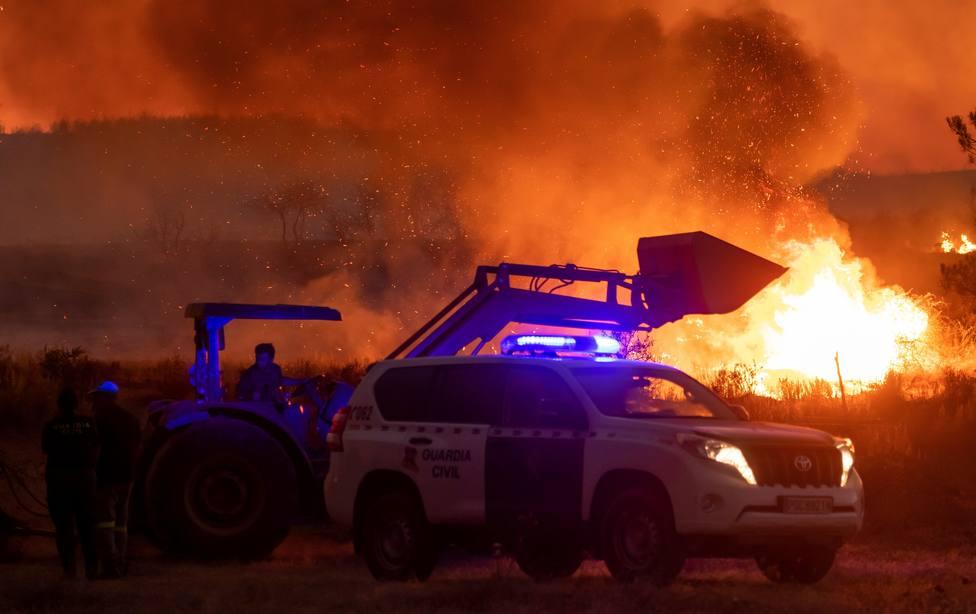 Incendio de Almonaster (Huelva)