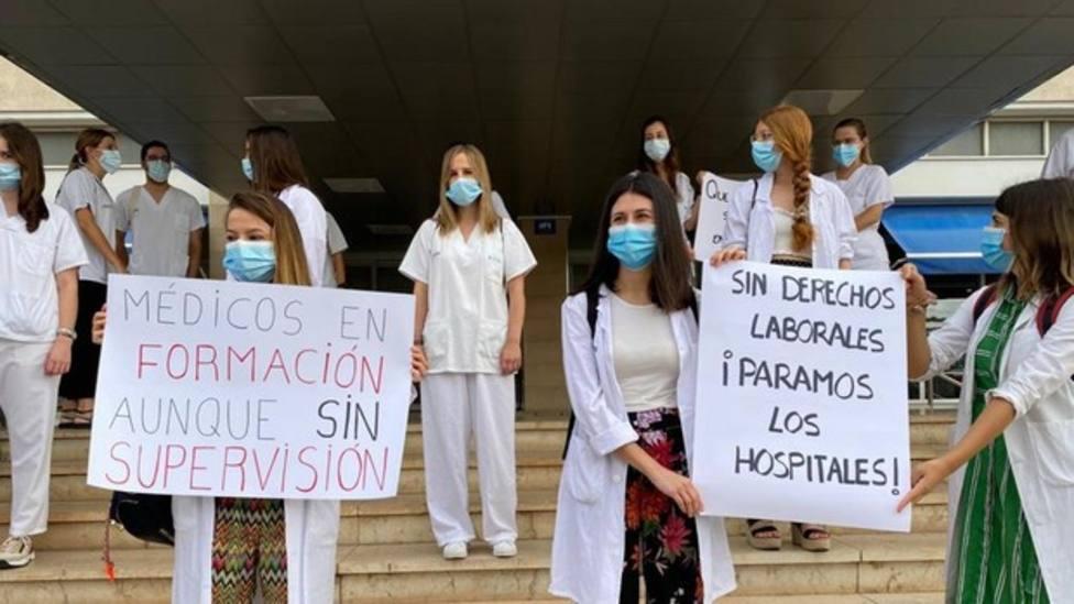 MIR en huelga en Valencia