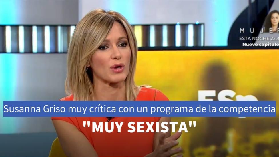 Susanna Griso en Espejo Público (Antena 3)