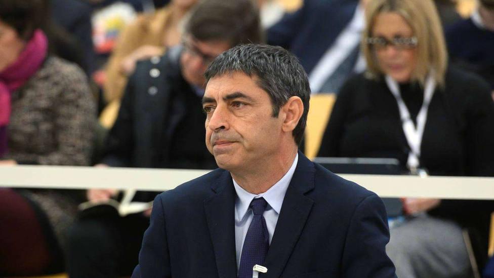 El exmayor de los Mossos dEsquadra, José Luis Trapero, durante el juicio en la Audiencia Nacional