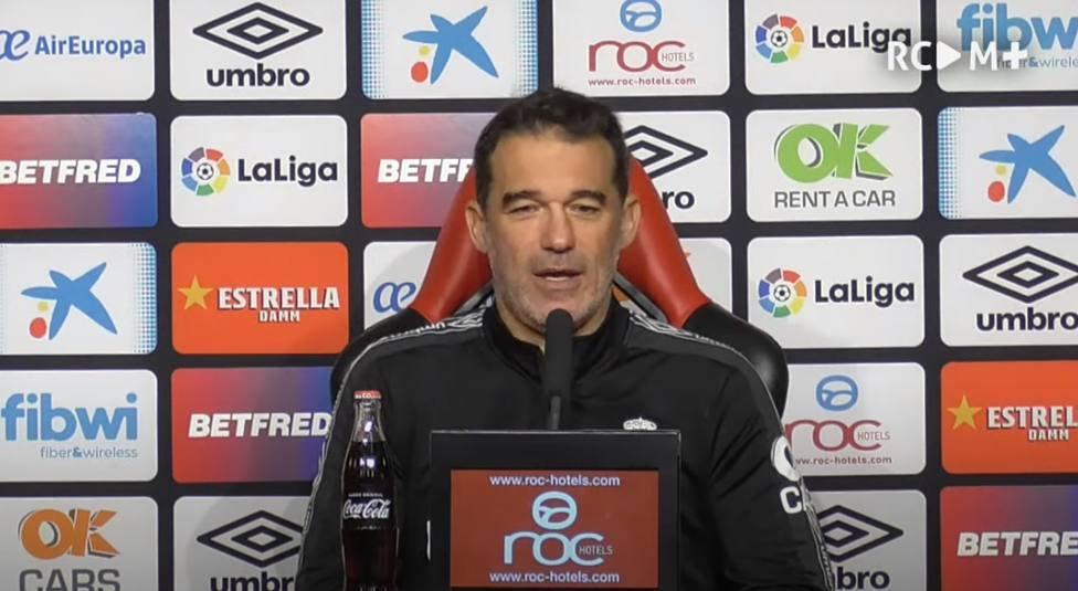 Rueda de Prensa de Luis García