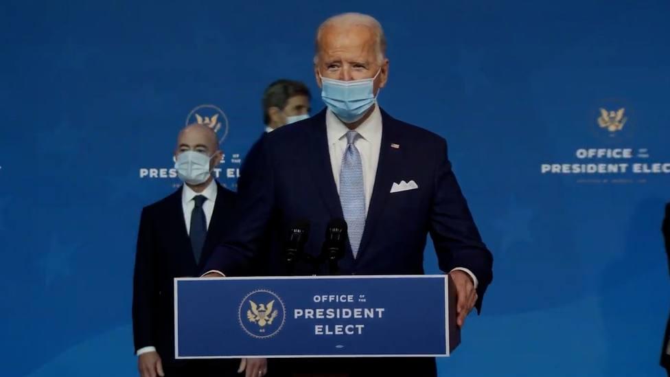 Biden apunta a un liderazgo demócrata en el Congreso y se muestra determinado a trabajar con ambos partidos