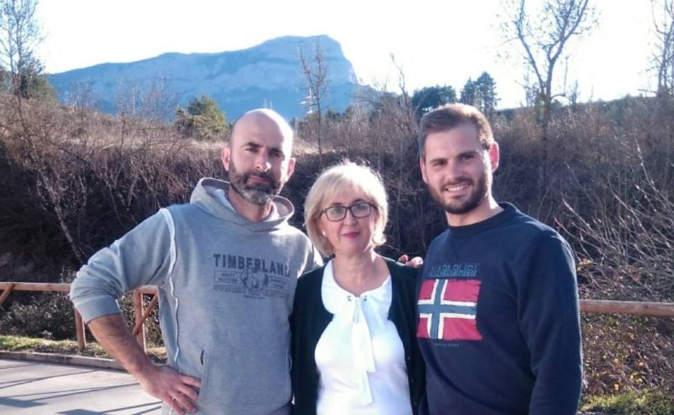 Fran Aísa, Elena Betés y Miguel Ara (foto de archivo)