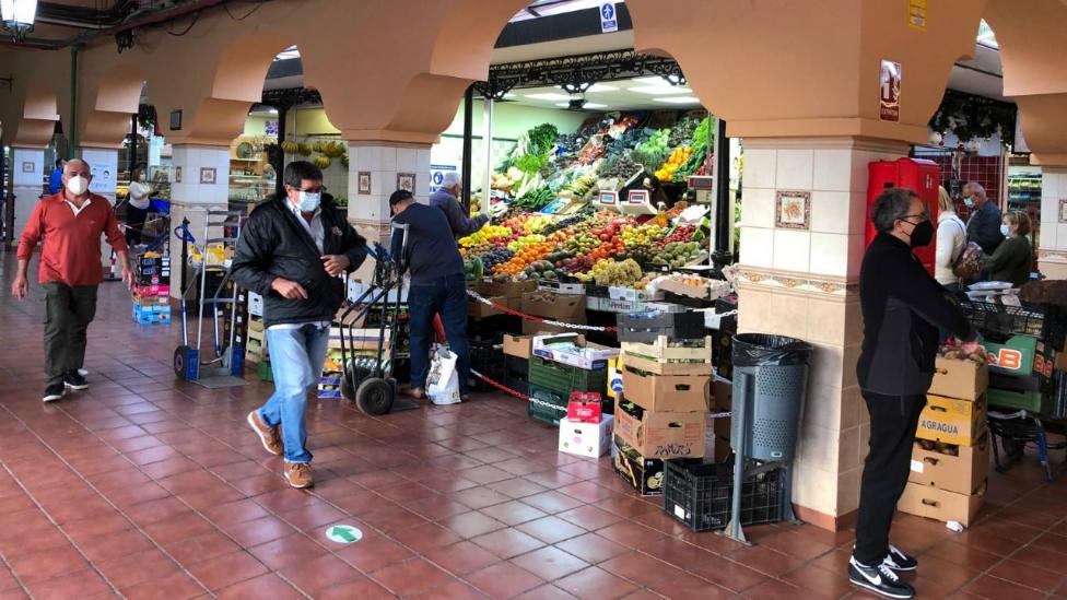 Coronavirus Tenerife Mercado