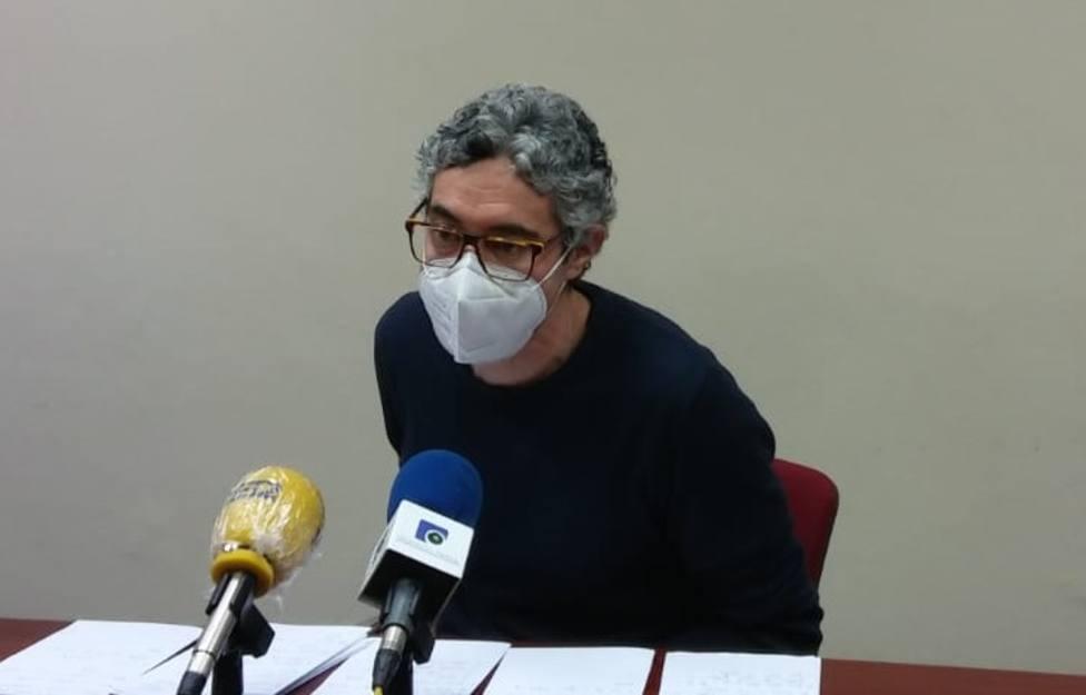 Iván Rivas, portavoz del grupo municipal del BNG de Ferrol - FOTO: Cedida