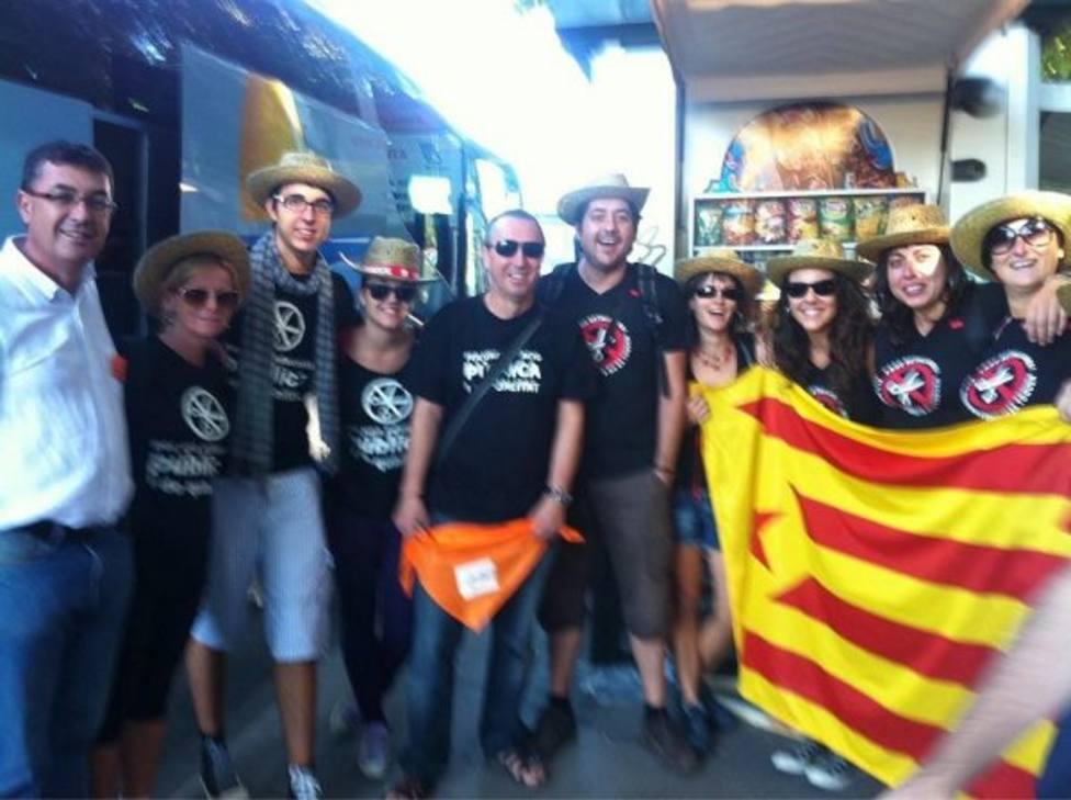 Baldoví participa en un actos con separatistas