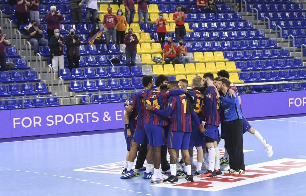 Equipo Barcelona balonmano