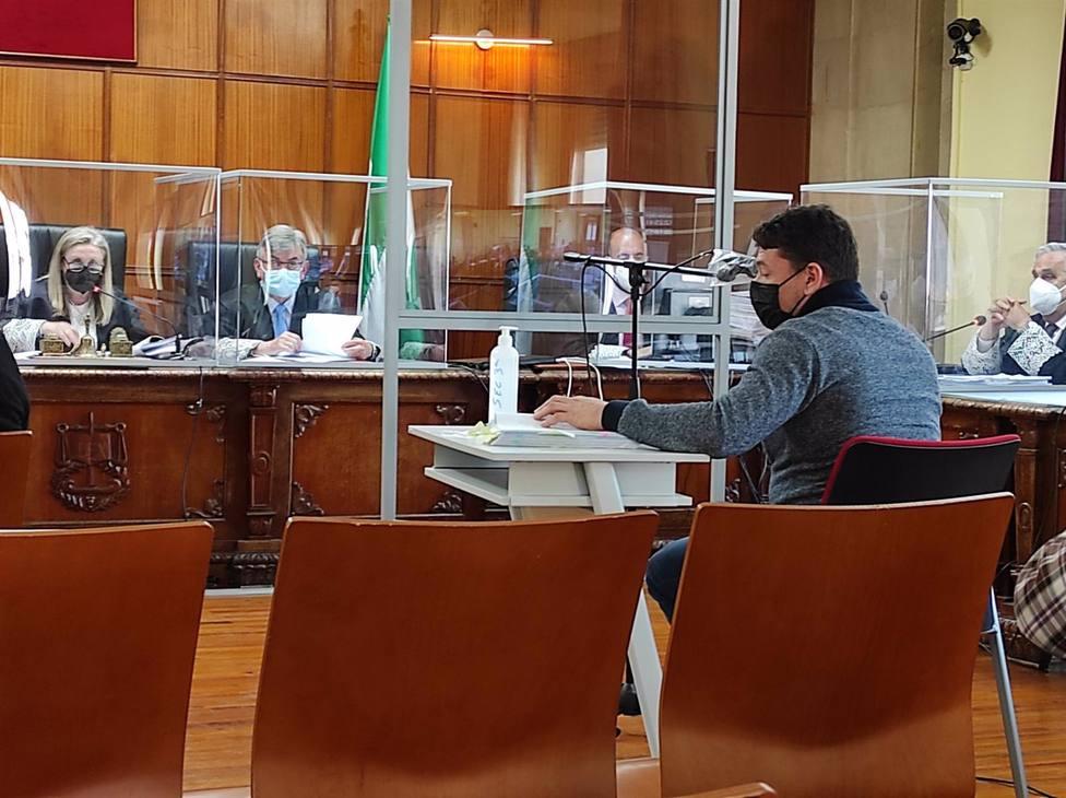 El empresario de Matinsreg durante su declaración (EP)