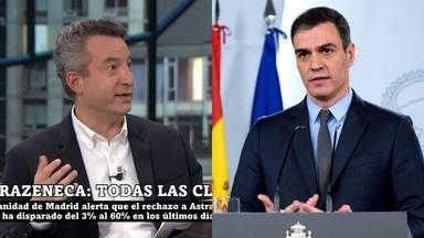 La reprimenda del doctor Carballo a Sánchez por los cambios con la vacuna de AstraZeneca: Caos absoluto