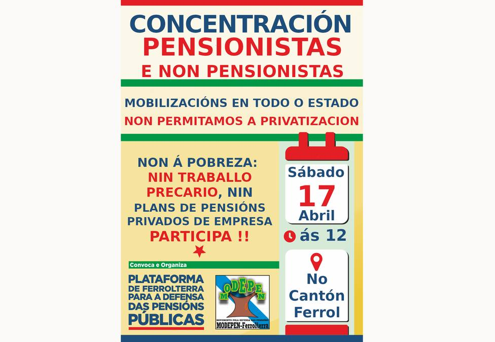 Cartel de la movilización de este sábado en el Cantón de Molins - FOTO: Cedida