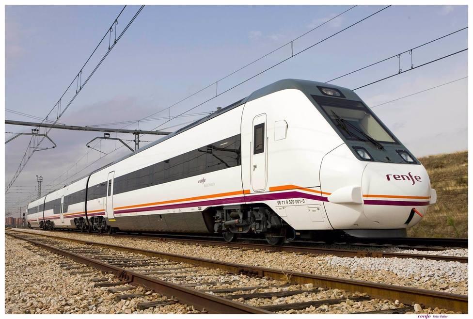 Huelva.-Interrumpida la circulación ferroviaria entre Escacena y La Palma por una averia de una locomotora de mercancías