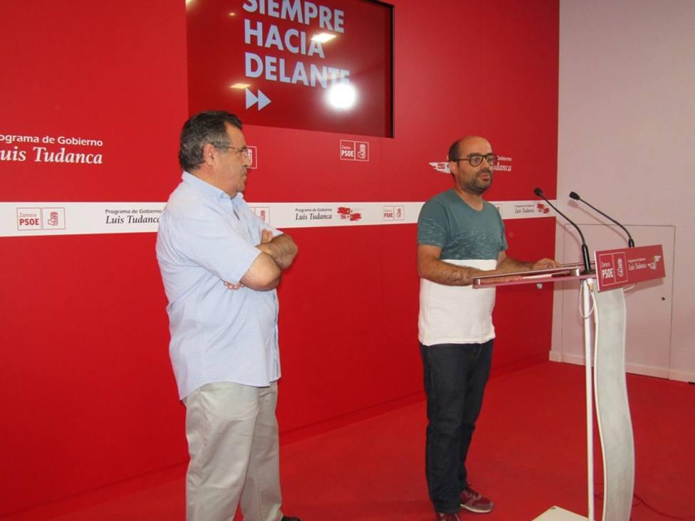 PSOE Eduardo Folgado y Jose Ignacio Martín