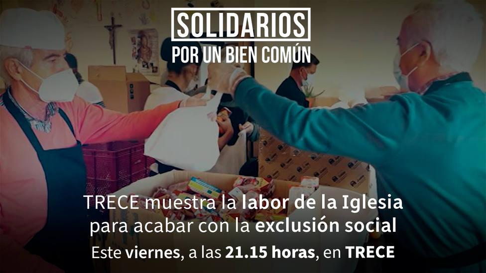 Este viernes, en TRECE, un nuevo capítulo de 'Solidarios por un bien común'