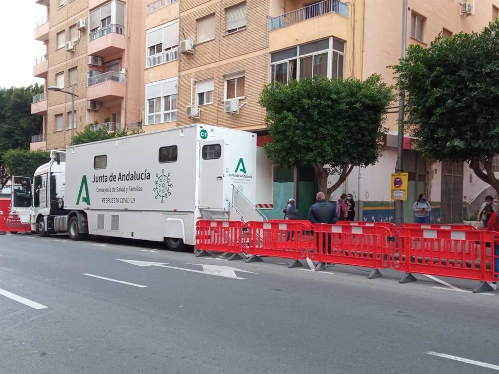 Salud cita esta semana a 1.160 personas para los cribados poblacionales en Almería y Santa Fe de Mondújar