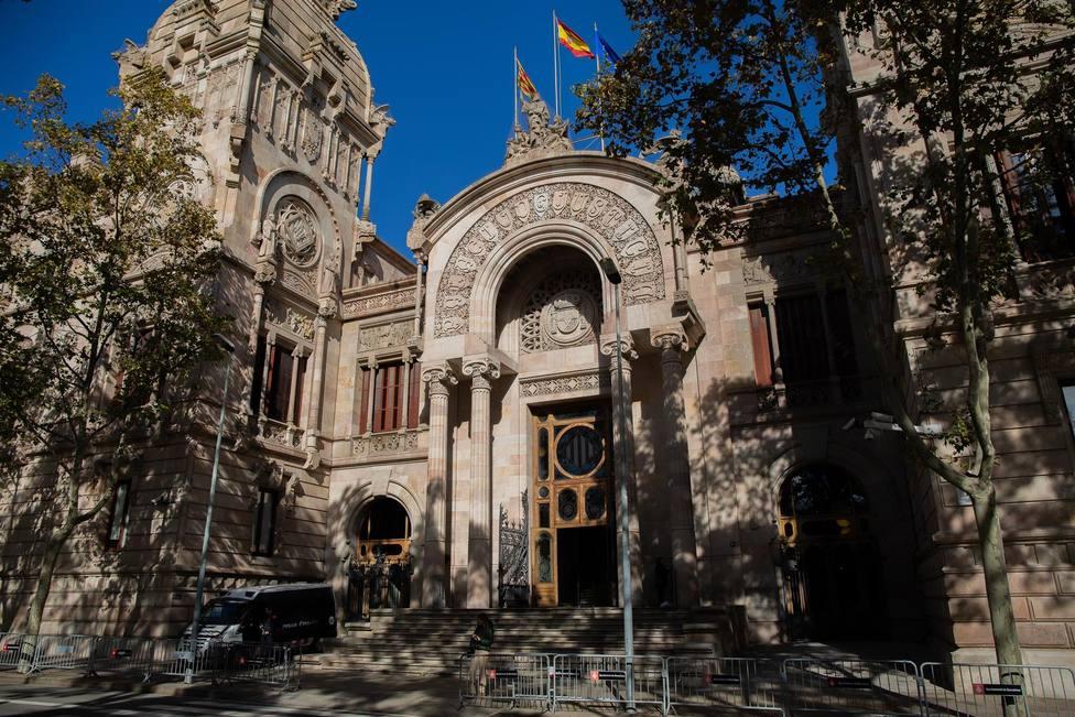 Fachada de la Audiencia de Barcelona - David Zorrakino - Europa Press - Archivo