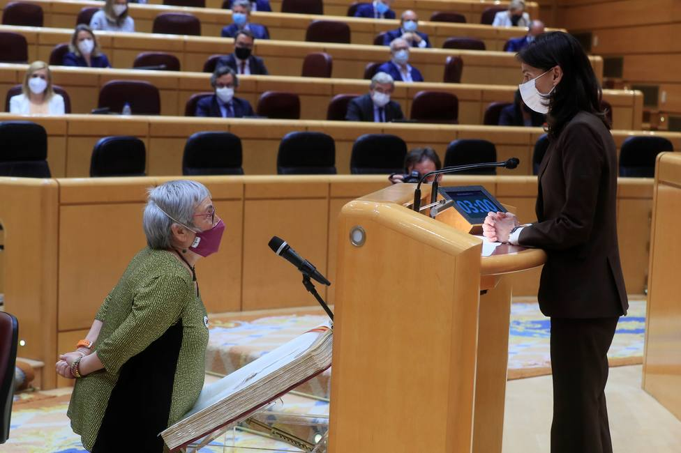 Vox recurrirá en amparo al Constitucional los acatamientos de la Constitución de los dos senadores de ERC