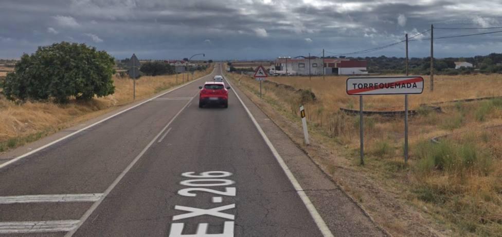 Torrquemada (Cáceres). Google Maps