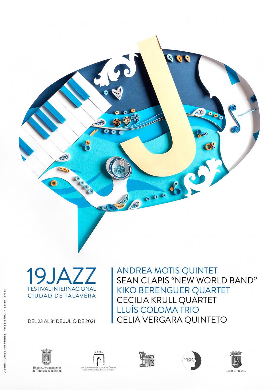 Cartel del 19 Festival de Jazz Ciudad de Talavera