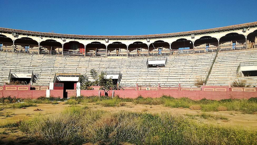Imagen de archivo de la situación del interior del coso de Sutullena de Lorca (Murcia)