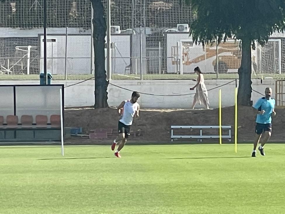 Gayà trabaja en Paterna para estar en Pamplona