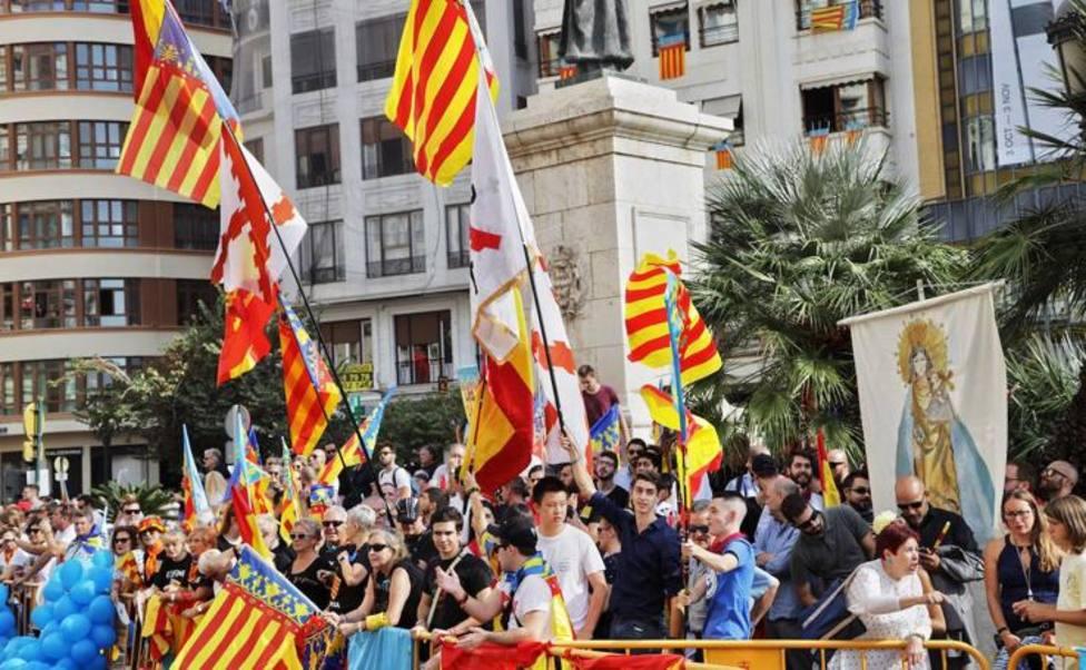 procesión cívica Valencia