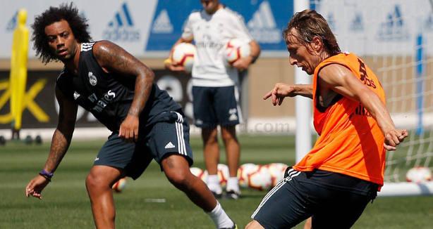 Modric y Marcelo