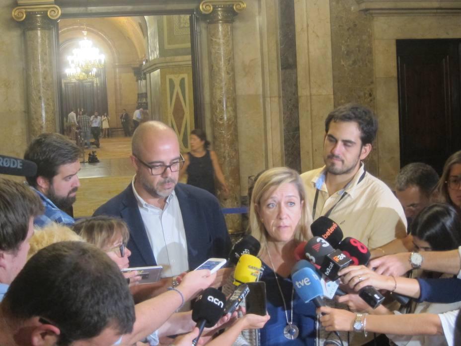 Buch y Lloveras comparecerán el martes en el TSJC como investigados por su apoyo al 1-O