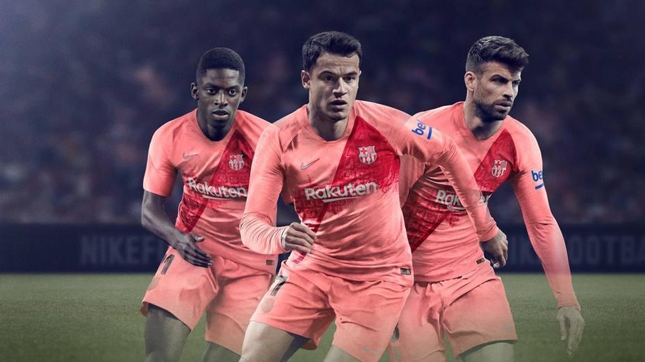 Tercera equipación del Barcelona
