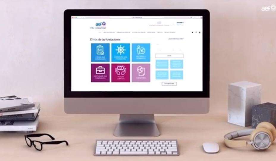 La Asociación Española de Fundaciones lanza una plataforma de contenido jurídico y de actualidad del sector fundacional