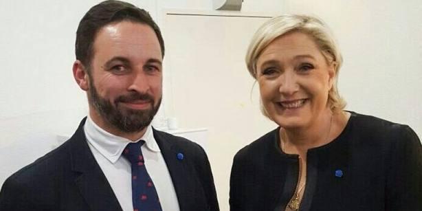 Marine Le Pen felicita a Vox antes de conocer los resultados