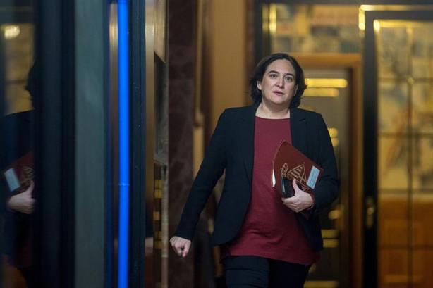 Ada Colau ha visitado a los presos de Lledoners y anuncia un comunicado contra el juicio del 1-O