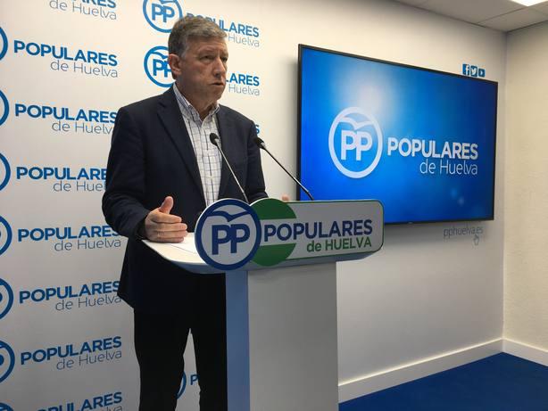 Carmelo Romero - Diputado nacional del PP por la provincia de Huelva