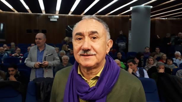Álvarez (UGT) insiste en pedir a los independentistas que tramiten los PGE para impulsar el cambio y recuperar derechos