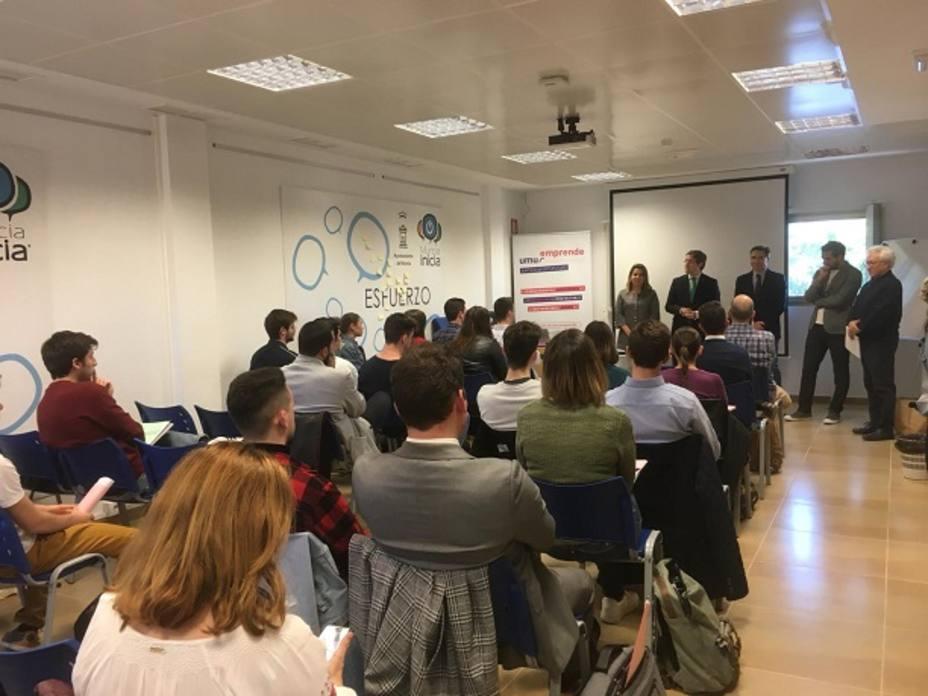 45 estudiantes de la Universidad de Murcia participan en el programa de formación 'Inicia el vuelo'
