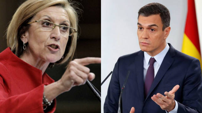 """Rosa Díez alerta sobre las intenciones de Pedro Sánchez: """"El peligro de España"""""""
