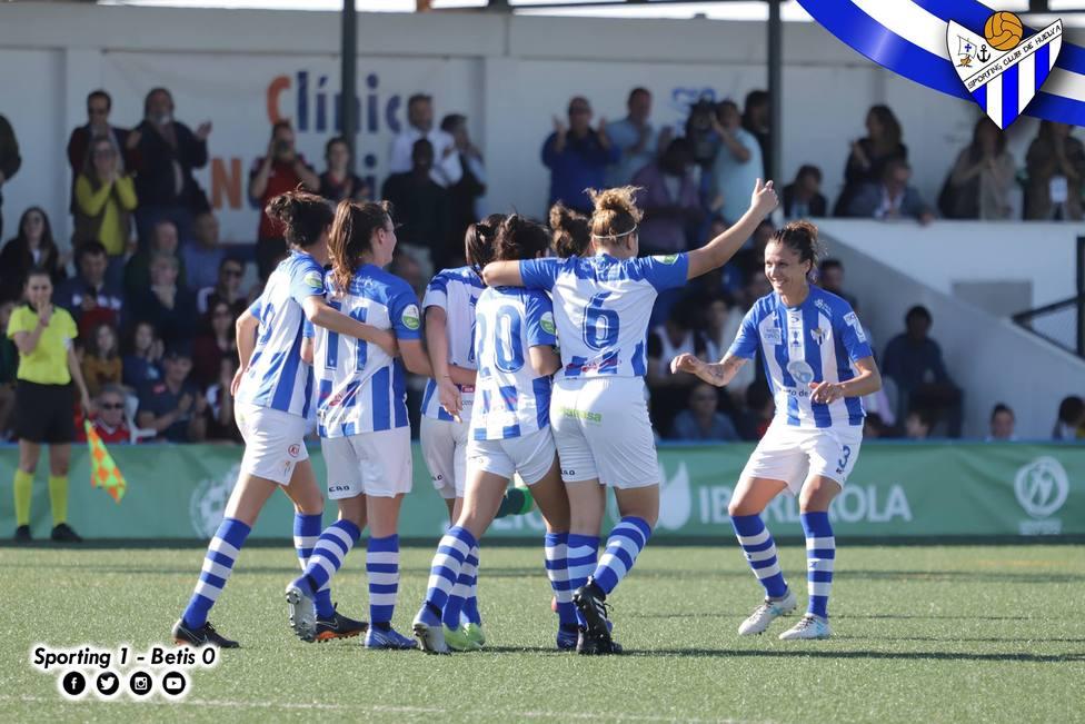 Imagen del ultimo partido jugado por el Sportin en Liga