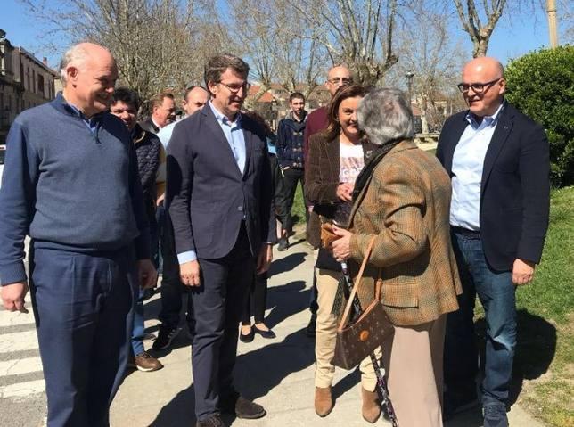 Feijóo considera al PP como la única vía segura para que no gobierne Sánchez y se tenga en consideración a Galicia