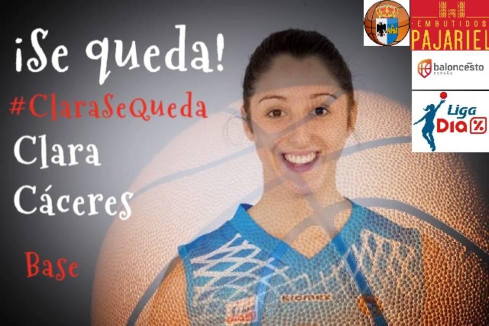 """Clara Cáceres continúa en Bembibre: """"No veo mejor forma de seguir creciendo"""""""