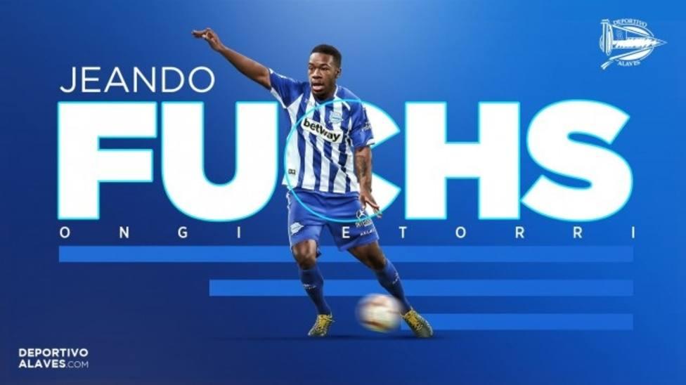 El Alavés vuelve a pescar en el Sochaux y ficha al centrocampista camerunés Jeando Fuchs