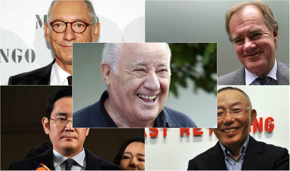 Estos son los cinco grandes empresarios del sector textil a nivel mundial
