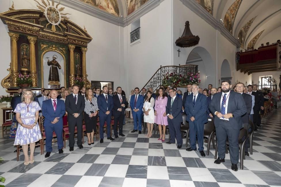El presidente de la Asamblea Regional reivindica el enorme potencial turístico de Lorca