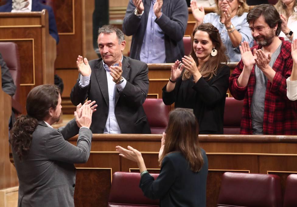Podemos lanza un vídeo en el que apela a sus orígenes y carga contra el PSOE y su relación con los grandes poderes