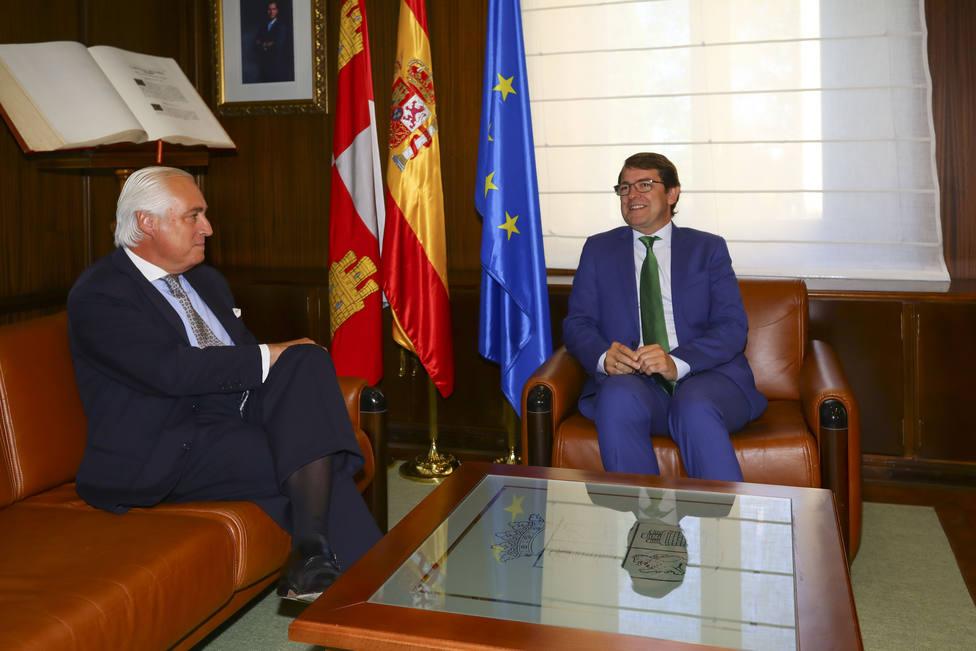 José Luis Concepción y Alfonso Fernández Mañueco