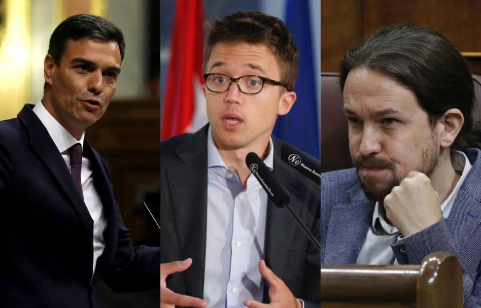 Los continuos guiños de Sánchez a Errejón que pueden provocar una crisis con Iglesias y Podemos