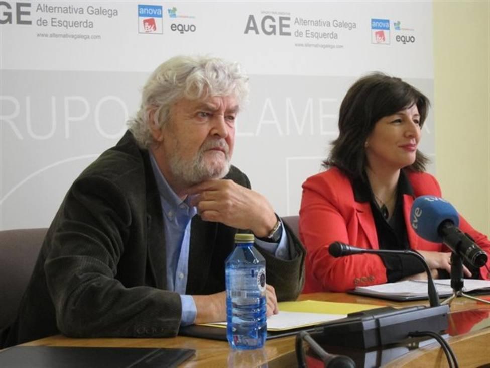 Un líder nacionalista gallego llama mierdosos a Rajoy y Felipe González